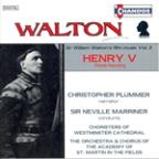 Walton - Music From The Olivier Films - Henry V / Plummer, Marriner, Asmf