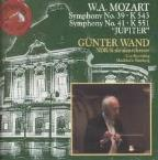 Mozart: Symphony no 39 & 41 / Günter Wand, North German RSO