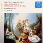 Bach J.S: 3 Quartets Etc