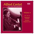 Alfred Cortot: The Late Recordings, Vol. 4