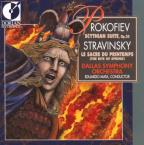 Sergei Prokofiev: Scythian Suite, Op. 20; Igor Stravinsky: The Rite of Spring