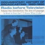 Documentary History of Broadcasting: 1920-1950