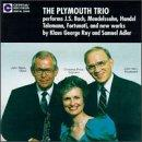 Plymouth Trio Performs J.S. Bach, Mendelssohn...
