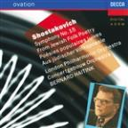 Shostakovich: Symphony No. 15; From Jewish Folk Poetry