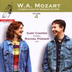 Mozart: Complete Sonatas for Keyboard and Violin, Vol. 4