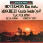 Moscheles: Grande Sonate / Mendelssohn: Variations In B Flat Major