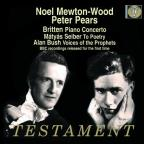 Britten: Piano Concerto; Matyas Seiber: To Poetry; Alan Bush: Voices of the Prophets