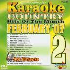 Karaoke: February 2007 Country Hits