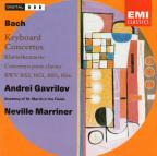 Bach: Keyboard Concertos / Marriner, Gavrilov, ASMF