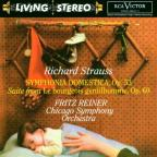 R. Strauss: Symphonia Domestica, etc / Reiner, Chicago SO
