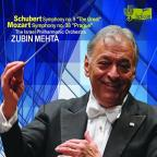 "Schubert: Symphony No. 9 ""The Great""; Mozart: Symphony No. 38 ""Prague"""