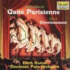 Offenbach: Gaite Parisienne; Ibert: Divertissement