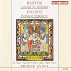 Bartok: Concerto for orchestra: Enesco: Romanian Rhapsodies