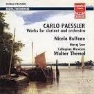 Paessler: Works For Clarinet And Orchestra / Bulfone, Et Al