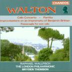 William Walton: Cello Concerto; Partita; Improvisations on an Impromptu of Benjamin Britten