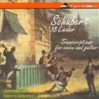 Schubert, F.: 18 Lieder (Arr. For Voice And Guitar)