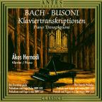 Bach-Busoni Piano Transcriptions