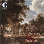 Piano Quartets of Schumann & Brahms