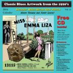 Classic Blues Artwork from the 1920s Calendar 2014