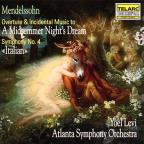 "Mendelssohn: A Midsummer Night's Dream; Symphony No. 4 ""Italian"""