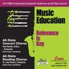 2014 Florida Music Educators Association (Fmea): All-State Concert Chorus & All-State Reading Chorus