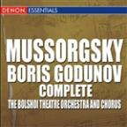 Mussorgsky: Boris Godunov
