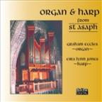 Organ & Harp from St. Asaph