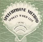 Speechphone Method: Spoken Word List