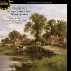 Stanford: String Quartet No. 1; Piano Quintet