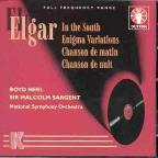 Elgar: In The South, Enigma Variations, Etc / Sargent, Et Al
