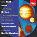 Holst: The Planets;  Britten: Young Person's Guide, etc