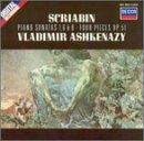 Scriabin: Piano Sonatas 1, 6 &amp; 8 / Ashkenazy