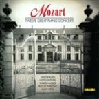 Mozart: Twelve Great Piano Concerti
