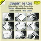 Stravinsky: The Flood, etc;  Wuorinen: Reliquary / Knussen