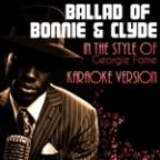 Ballad Of Bonnie & Clyde (In The Style Of Georgie Fame) [karaoke Version] - Single