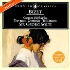 Bizet: Carmen - Highlights / Solti, Troyanos, Domingo, Et Al