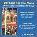 Baroque for the Mass- Ursuline Composers of the 17th Century
