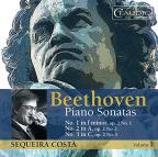 Beethoven: Piano Sonatas Op. 2, Vol. 1