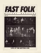 Fast Folk Musical Magazine, Vol. 4 #1