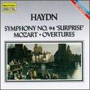 Haydn: Symphony no 94;  Mozart: Overtures / David Blackside