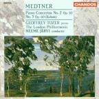 Medtner: Piano Concertos no 2 & 3 / Tozer, Jarvi, London PO