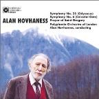 Alan Hovhaness: Symphonies Nos. 25 & 6; Prayer of St. Gregory