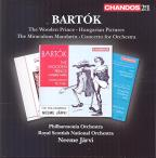 Bartok: The Wooden Prince; Hungarian Pictures; The Miraculous Mandarin; Concerto for Orchestra