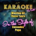 Wasting All These Tears (In The Style Of Cassadee Pope) [karaoke Version] - Single