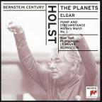 Bernstein Century: Holst - The Planets; Elgar - Military March