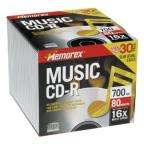 CD-R - 700MB, 30 Pack Slim