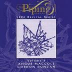 Piping Centre 1996 Recital Series, Volume 4