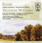 Elgar: Enigma Variations; Serenade for Strings; Vaughan Williams The Lark Ascending; Fantasia on Greensleeves; Fantasia on a Theme
