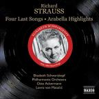 R. Strauss: Four Last Songs; Arabella