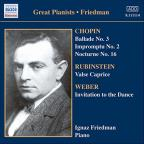 Ignaz Friedman, Complete Recordings